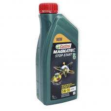 Castrol Magnatec Stop-Start 5W-30 A3/B4 - мастило синтетичне для двигуна, UR-MSS53AB-12X1, 1л