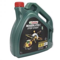 Castrol Magnatec Stop-Start 5W-30 A3/B4 - мастило синтетичне для двигуна, UR-MSS53AB-4X4L, 4л