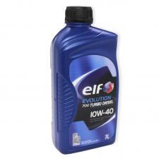 Elf Evolution 700 turbo diesel 10W40 напівсинтетичне мастило для двигуна, 1006667, 1л