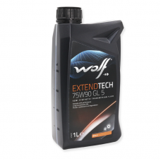 Wolf Extendtech 75W90 GL5 - мастило напівсинтетичне для механічних трансмісій, 8303302, 1л