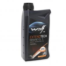 Wolf Extendtech 80W90 GL5 -  мастило мінеральне для механічних трансмісій, 8304309, 1л