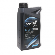 Wolf Guardtech 10W40 B4 DIESEL SL/CF, A3/B4 - мастило напівсинтетичне для двигуна, 1л