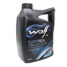 Wolf Guardtech 10W40 B4 DIESEL SL/CF, A3/B4 - мастило напівсинтетичне для двигуна, 4л