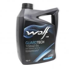 Wolf Guardtech 10W40 B4 SL/CF, A3/B4 - мастило напівсинтетичне для двигуна, 4л