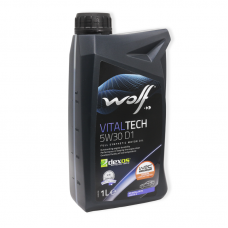 Wolf Vitaltech 5W30 D1 SN/RC, ILSAC GF5 - мастило синтетичне для двигуна, 1л
