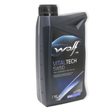 Wolf Vitaltech 5W50 SN/CF, A3/B4 - мастило синтетичне для двигуна, 41329, 1л