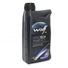 Wolf Vitaltech 75W90 GL5 - мастило синтетичне для механічних трансмісій, 8303906, 1л