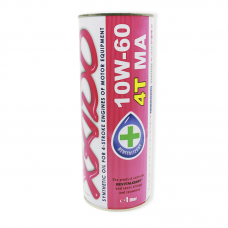 Хадо Atomic 10W-60 4T MA - мастило синтетичне для двигуна чотирьохтактної мототехніки з ревіталізантом, ХА 20128, 1л