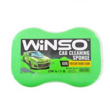Губка для миття авто WINSO з дрібними порами 240*160*70mm (зелена)