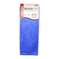 Ганчірка з мікрофібри Carlife, 40x40см, колір синій, CC903