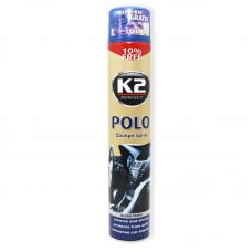 Полироль для пластика з ароматом лаванди та глянцевим ефектом K2 Polo cockpit, EK4071, 750мл