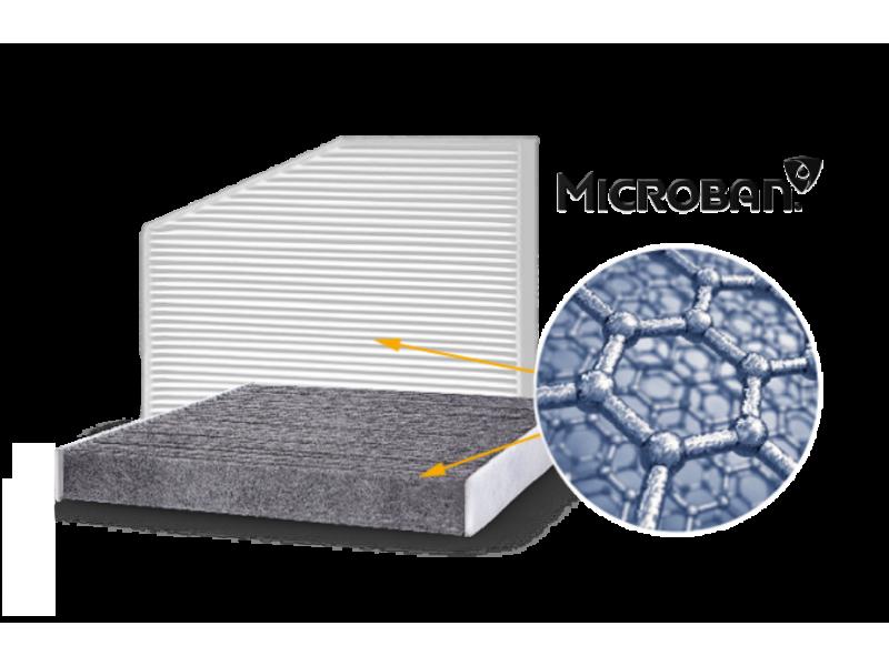 Додатковий захист завдяки інноваційній технології MICROBAN!