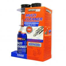 Очищувач паливної системи(дизель) з ревіталізантом Хадо Atomex Multi Cleaner, XA40113, 225мл