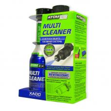 Очищувач паливної системи(бензин) з ревіталізантом Хадо Atomex Multi Cleaner, XA40013, 225мл