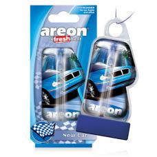 Нова Машина ароматизатор повітря Areon Liquid New Car LC06 8,5мл