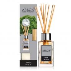 Срібло аромадифузор повітря Areon Lux Home Perfume Silver PL02, 85мл