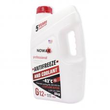 Nowax Antifreeze (G12+) - антифриз червоний, NX05001, 5кг